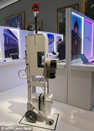 دوربین 360 درجه موزه مجازی گوگل