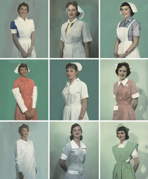 لباس پرستاران, کشورهای مختلف