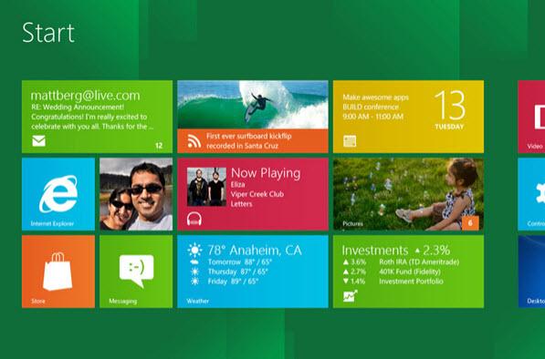 ویندوز 8, مایکروسافت