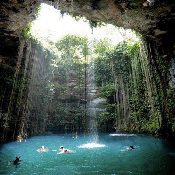 شنا, شناگران , مکزیک
