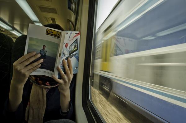 کتابخوانی,مترو