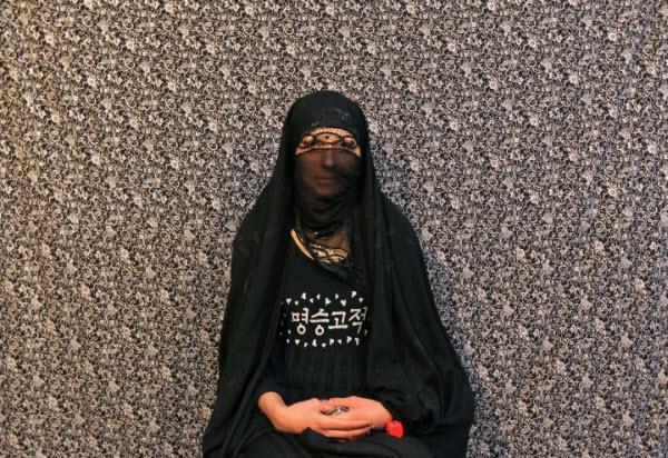 یکی از زنان عزادار خرم آبادی