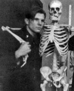 یوری گاگارین زمانی که دانشجو بود