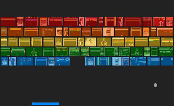 در قسمت جستجوی عکس گوگل آتاری بازی کنید