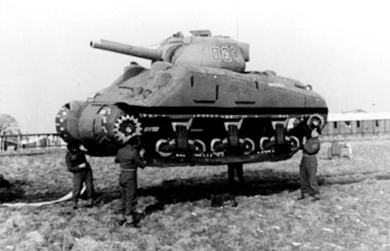 ارتش اشباح و هنرمندان خلاق، در جنگ جهانی دوم