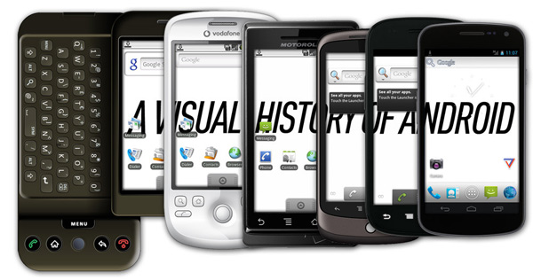 Android-visual-history