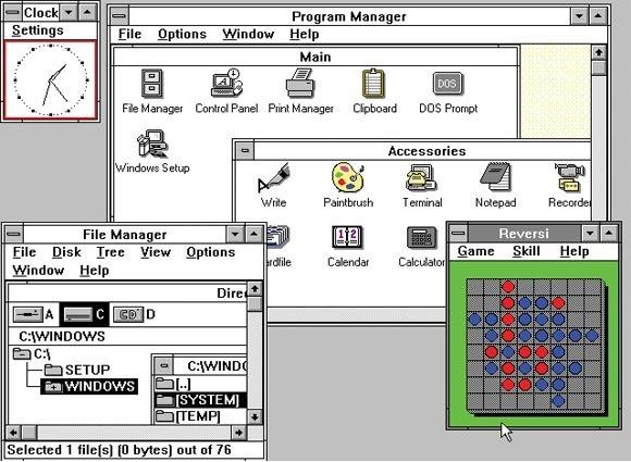 ۱۹۹۰-Windows3