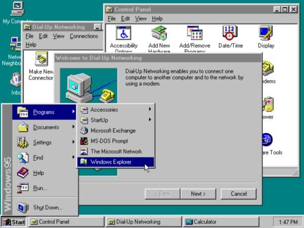 ۱۹۹۴-Windows95