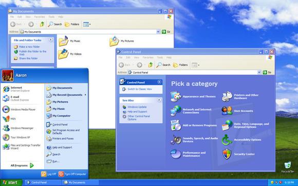 ۲۰۰۱-WindowsXP