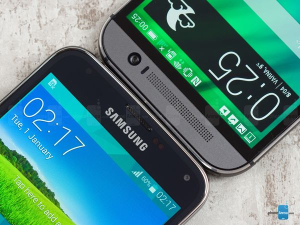 Samsung Galaxy S5 vs HTC One (M8