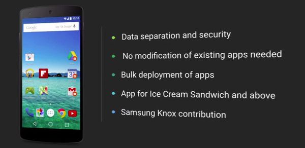 Android-L-Knox-integration