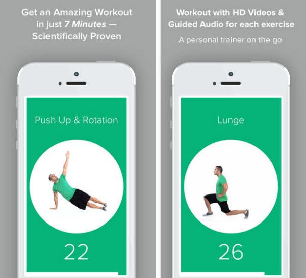 با کمک این اپلیکیشن رایگانشده، هر روز فقط با 7 دقیقه ورزش، بدن سالمتر و متناسبتری پیدا کنید - یک پزشک