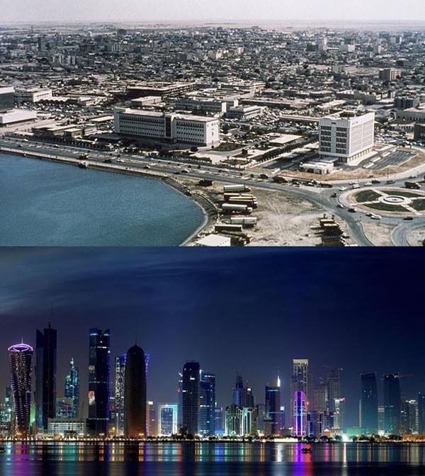 عکس قدیمی عکس زیبا شهر زیبا ساحل دبی