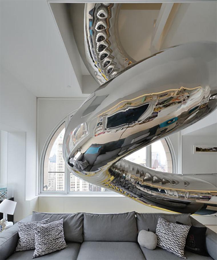 Indoor-Stainless-Steel-slide