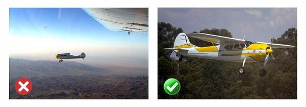 Aircraft Two Thirds Rule Example 800x2821 چگونه با گوشی عکسهای بهتری بگیریم