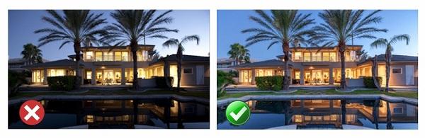 Locations Lighting Good vs Bad with X and Check 800x260 چگونه با گوشی عکسهای بهتری بگیریم