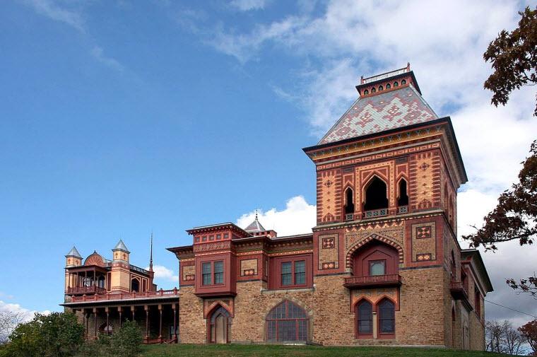 خانه اُلانا، آمیزهای از معماری ایرانی و ویکتوریایی در نیویورک! - یک پزشک