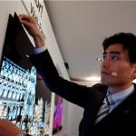  تلویزیون OLED کاغذی دیواری مفهومی الجی با ضخامت کمتر از یک میلیمتر