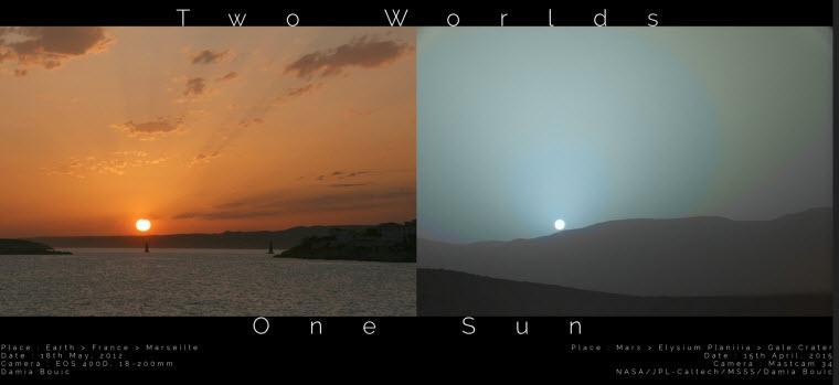 5 9 2015 10 14 02 AM عکسهای غروب خورشید در مریخ