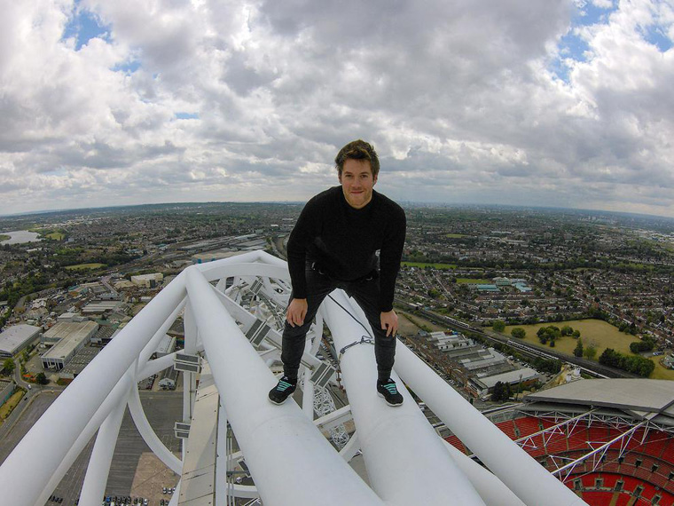 UK Man Becomes First Person to Climb Wembley Arch