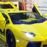 یک مشهدی، یک خودروی لامبورگینی آونتادور دستساز با موتور بیوک ساخت!