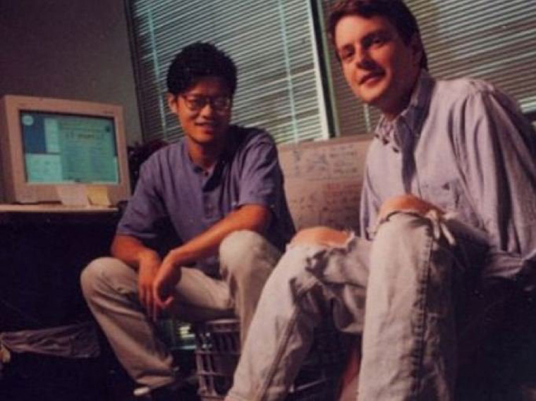 as-students-at-stanford-jerry-yang-and-david-filo-came-up-with-the-idea-of-building-a-directory-for-websites-they-launched-jerry-and-davids-guide-to-the-world-wide-web