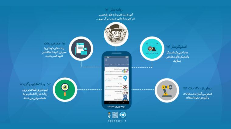 انواع+ربات+تلگرام
