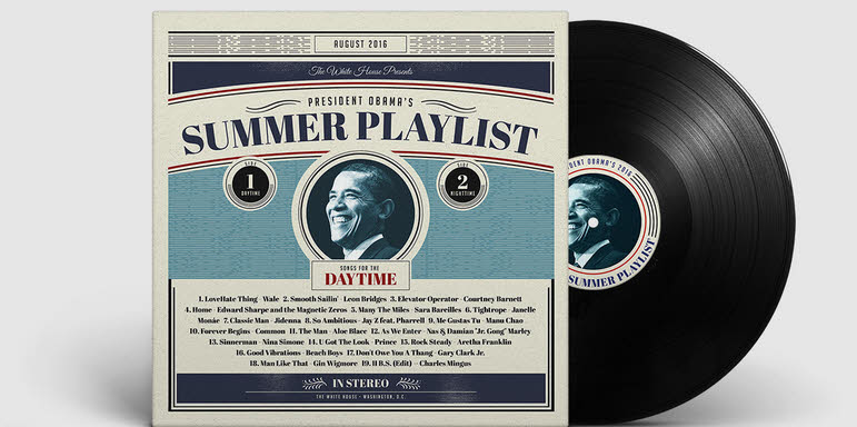 باراک اوباما، تابستان امسال به چه موسیقیهایی گوش میکرد؟