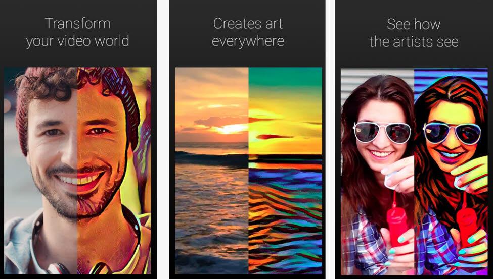 با اپلیکیشن آرتیستو، ویدئوهای کوتاه خود را به تابلوهای هنری متحرک تبدیل کنید!