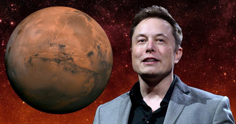 آرزوها و جاهطلبیهای ایلان ماسک برای فتح مریخ و ساخت یک متروپلیس در آن
