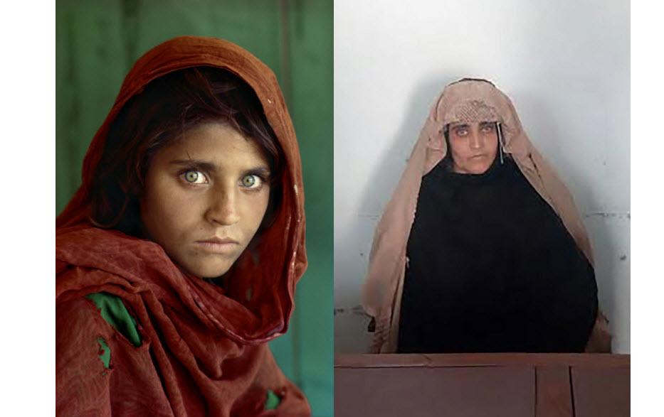 مونالیزای افغان دستگیر شد!