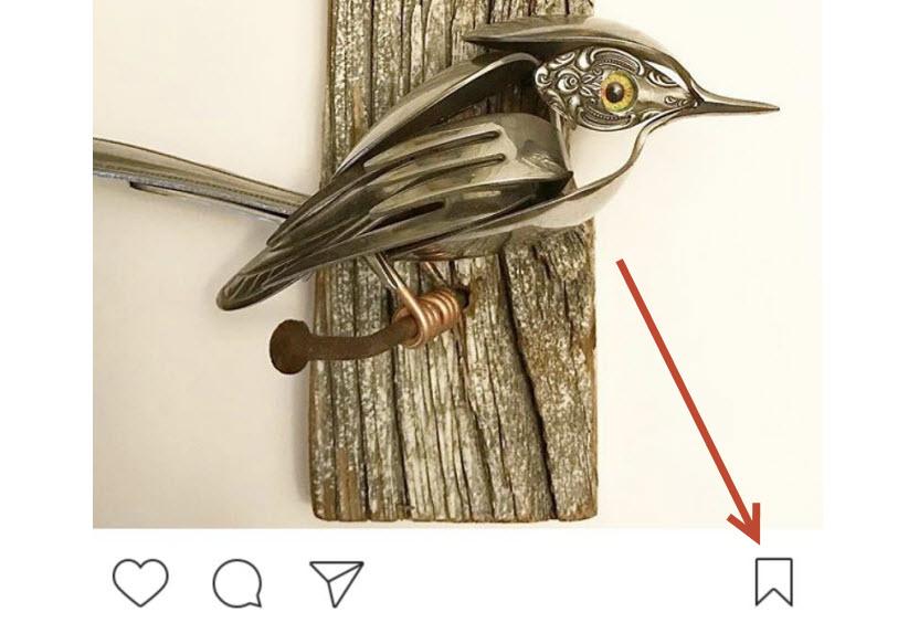 حالا میتوانید در هنگام مرور عکسهای اینستاگرام، عکسهای دلخواه را برای مشاهده دوباره خود، ذخیره یا بوکمارک کنید