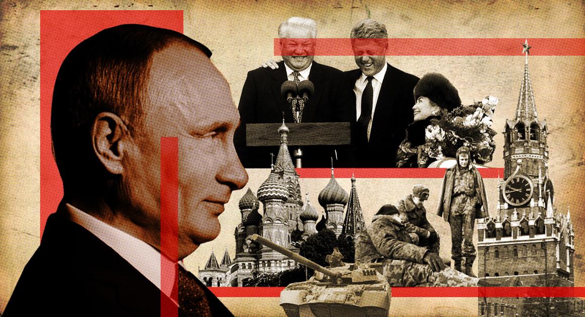 انتقام پوتین:چگونه پوتین روسیه تحقیر شده در سالهای دهه 1990 میلادی را برنده جنگ سرد 2.0 کرد