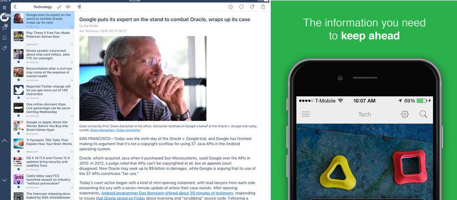 درسنامه و راهنمای خبرخوانی، فیدخوانی و سوژهیابی – قسمت هفتم: اپلیکیشنهای فیدلی و اینوریدر را دانلود کنید