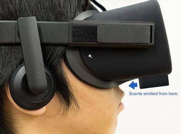 این شرکت نوگام ژاپنی بو و رایحه را به بازیهای واقعیت مجازی اضافه میکند!
