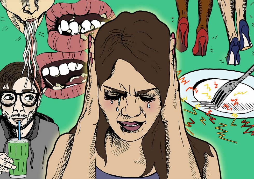 چرا از کسانی که با سر و صدا غذا میخورند، بدمان میآید؟