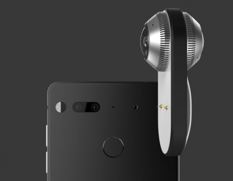 دوربین 360 درجه گوشی اسنشیال