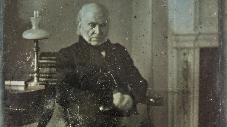 پس از یک قرن مفقودی، قدیمی ترین عکس موجود از یک رئیس جمهور آمریکا پیدا شد