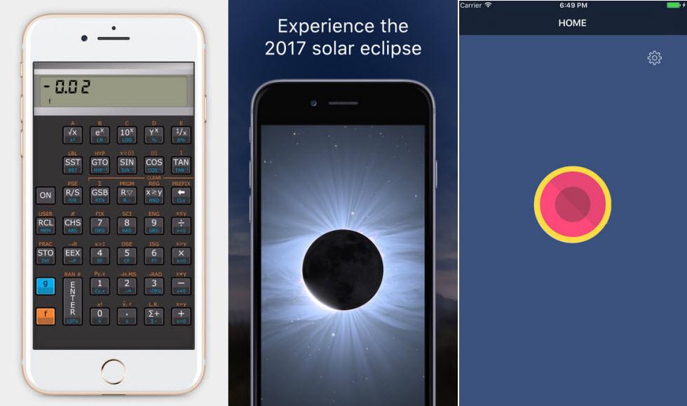 شتاب کنید! معرفی 3 اپلیکیشن رایگان شده خوب برای آیفون شما: ضبط مکالمات – ماشین حساب علمی و راهنمای ستارگان