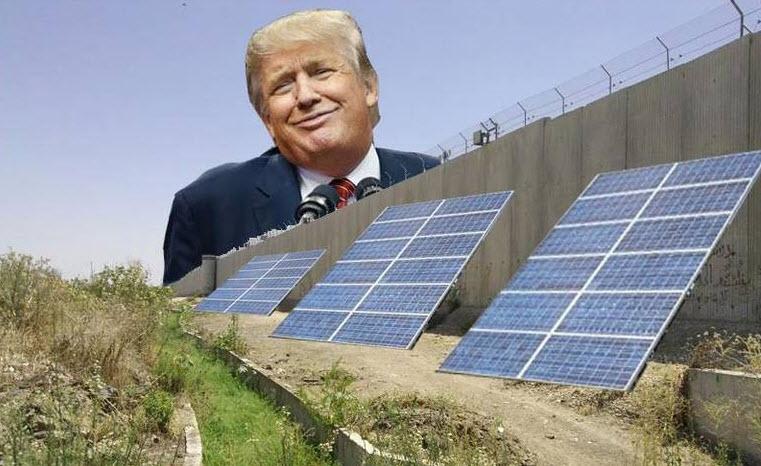 چرا سیاستمداران از ریاضی و دانش گریزان هستند؟ بررسی طرح ترامپ برای تأسیس یک دیوار متشکل از سلولهای خورشیدی در مرز آمریکا و مکزیک!