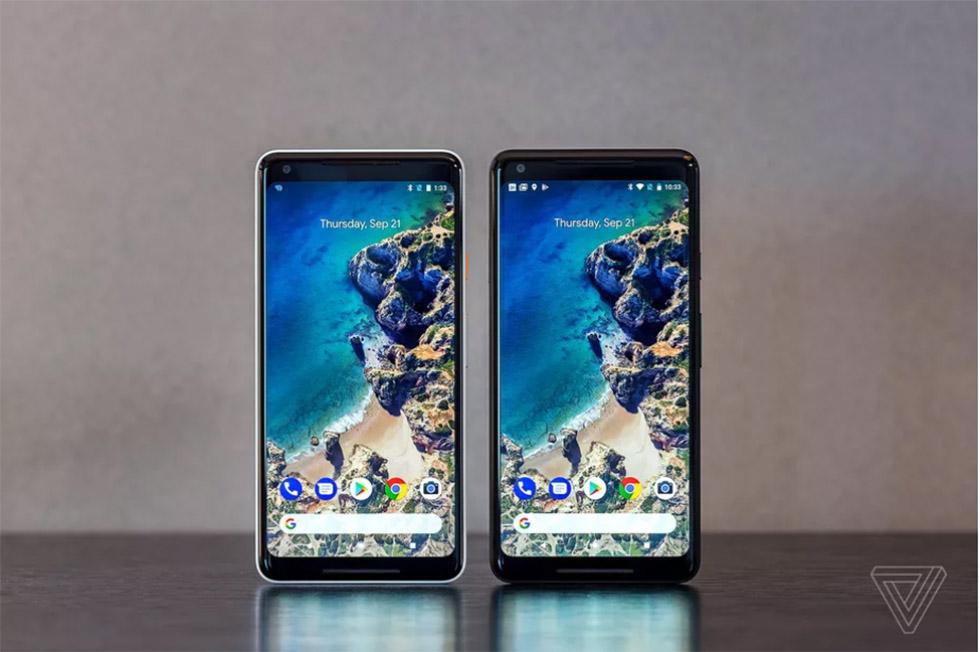 گوگل گوشیهای هوشمند پیکسل 2 و پیکسل 2 XL با دوربین «سنسور پیکسل دوگانه» و صفحه نمایش همیشه روشن و ضدآب را معرفی کرد