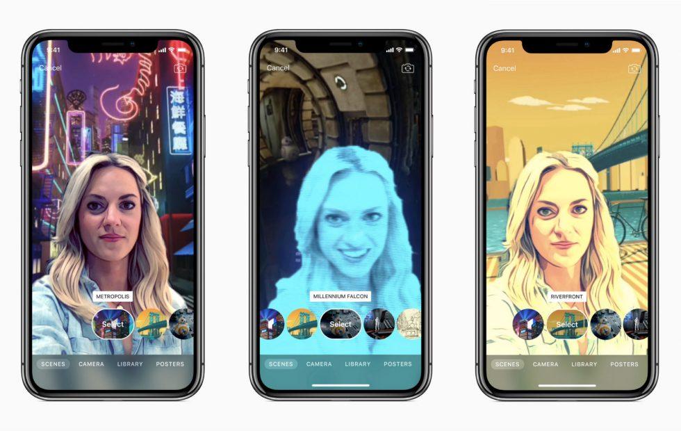 اپل نسخه جدیدی از اپلیکیشن Clips را برای آیفون X و گرفتن سلفی های ۳۶۰ درجه منتشر کرد