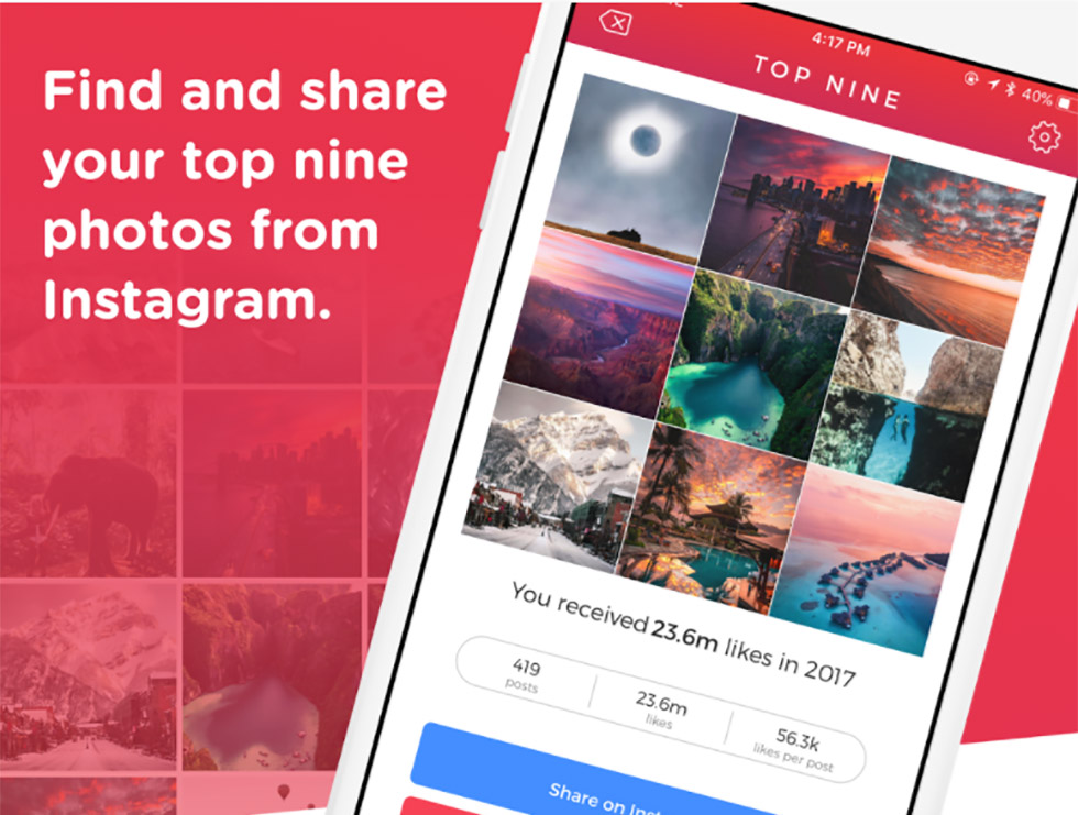 چگونه محبوبترین پستهای اینستاگرام خودمان و دیگران در سال 2017 را ببینیم
