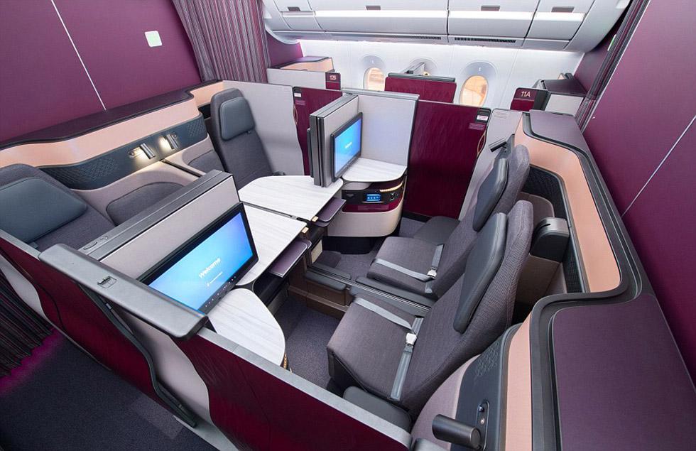 گالری عکس: اولین هواپیمای ایرباس A350-1000 قطر ایرویز برای مسافرتهای هوایی طولانی