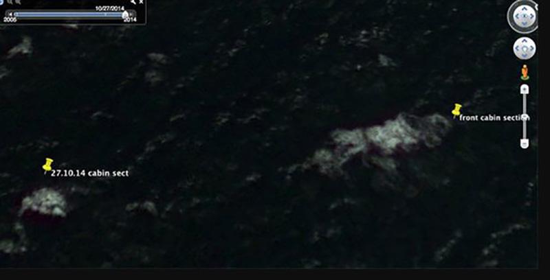 THP CHfP 170318SLUG 3276JPG - مرد استرالیایی مدعی است قطعات هواپیمای پرواز MH370 را در گوگل ارث پس از ۴ سال جستوجو یافته است