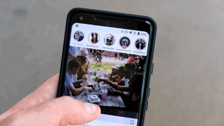 اینستاگرام در حال آزمایش نوار استوری دایمی برای دنبال کردن بیشتر کاربران است