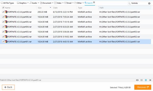 6 18 2018 5 17 28 PM - بازیابی فایلهای از دسترفته با نرمافزار توانمند EaseUS Data Recovery Wizard