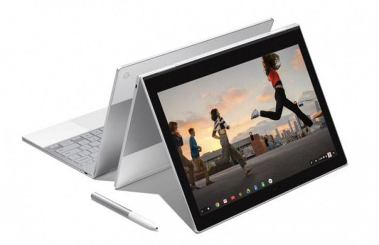 Google Pixelbook - لپتاپ گوگل پیکسل بوک میتواند هر دو سیستمعامل کروم و ویندوز ۱۰ را اجرا کند