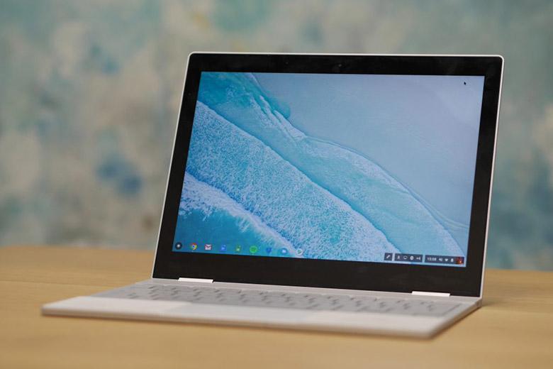 لپتاپ گوگل پیکسل بوک میتواند هر دو سیستمعامل کروم و ویندوز 10 را اجرا کند