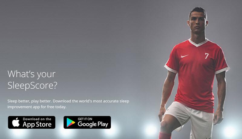 اپلیکیشن ارزیابی و بهبود کیفیت خواب که این روزها کریستیانو رونالدو تبلیغش رو می کند